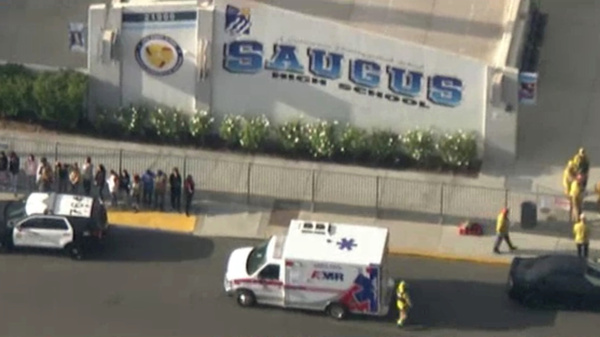 Several people were injured and at least one person has died after a shooting at Saugus High School in Santa Clarita, Calif., where authorities say a gunman opened fire Thursday.