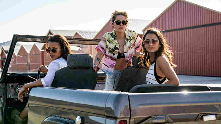 In A Rote, Rebooted 'Charlie's Angels,' Only Kristen Stewart Earns Her Wings