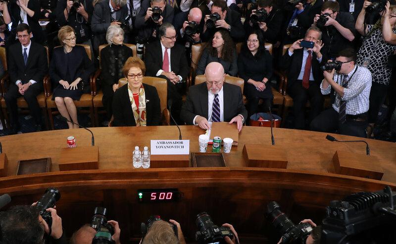 Ex-Envoy to Ukraine 'Devastated' as Trump Vilified Her