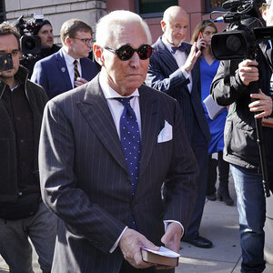 Roger Stone, Political Operative And Trump Aide, Guilty In False-Statements Trial