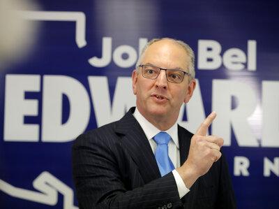 Louisiana Democrat Gov. John Bel Edwards Keeps Seat Despite Trump's Opposition