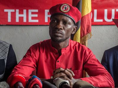 Bobi Wine Vs. Uganda's 'Dictator': It's 'Dangerous To Sit Down And Resign To Fate'