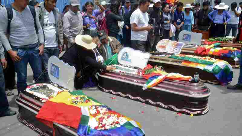 8 Killed In Bolivia As Protesters Call For Return of Ousted President Evo Morales