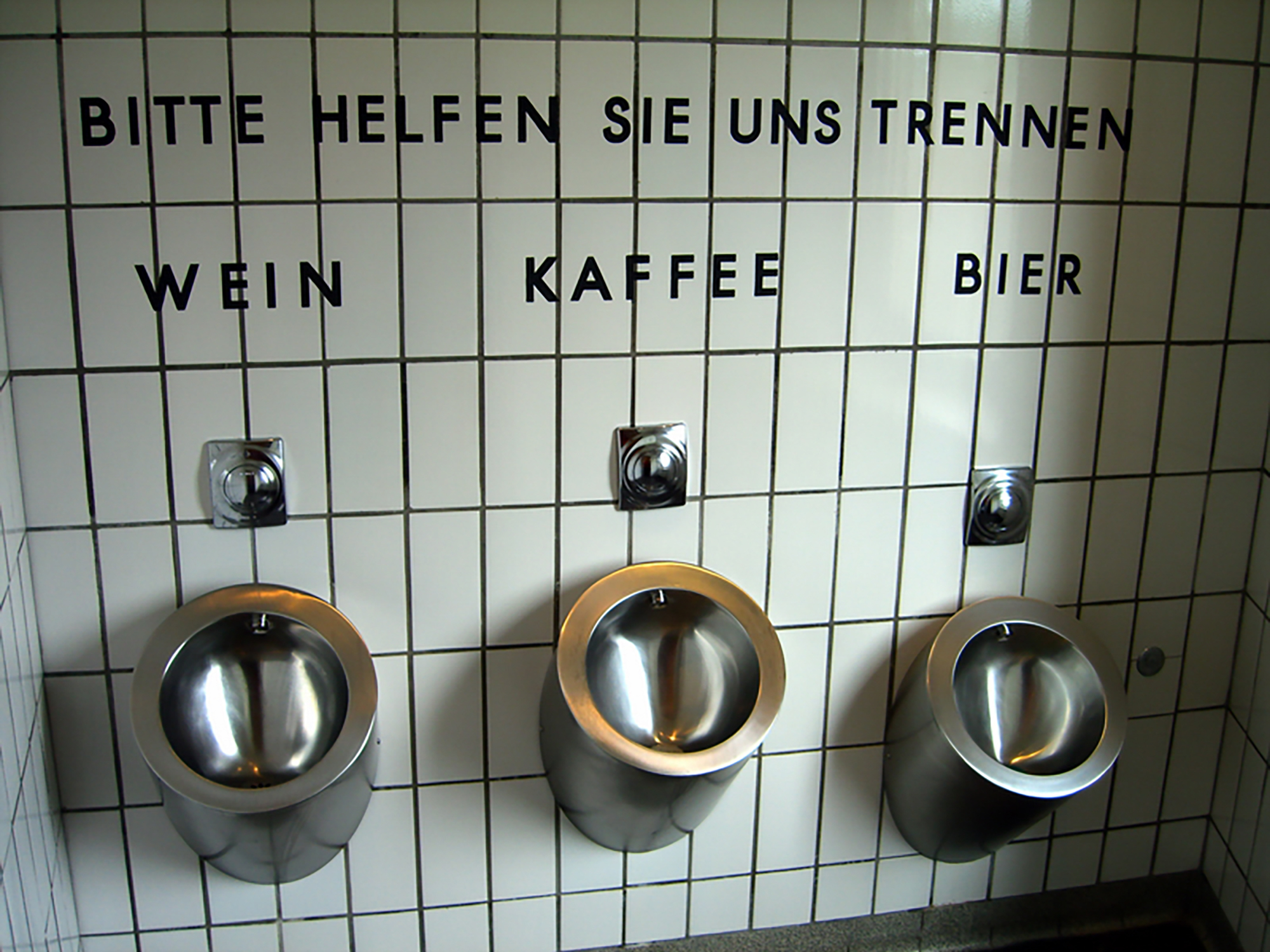 Toilet Signs Give The Scoop On Pee And Poop