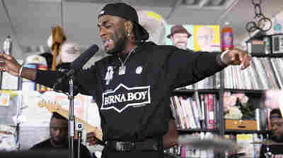 Burna Boy: Tiny Desk Concert