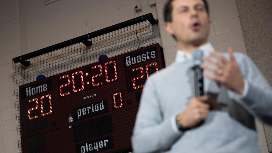 Attacks on Pete Buttigieg may come into focus at this week's debate, as he has taken the top spot in an Iowa poll for the first time. (JIM WATSON/AFP via Getty Images)