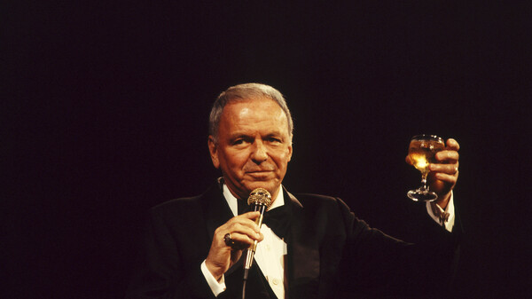 Frank Sinatra onstage in the 1970s. Though the star was ambivalent at best about the song