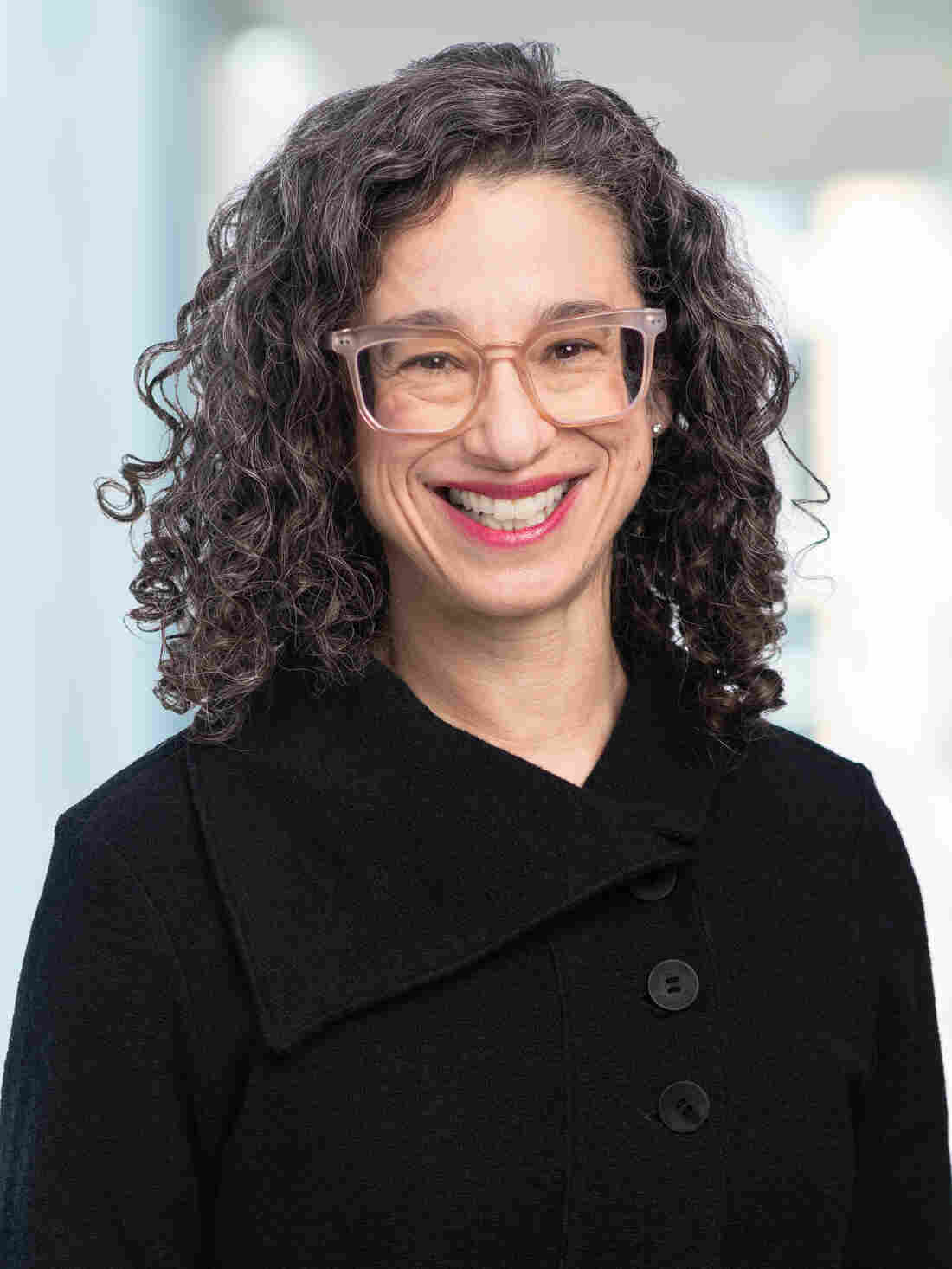 Tamar Charney, photographed for NPR, 13 November 2019, in Washington DC.
