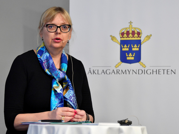 """Deputy Director of Public Prosecution Eva-Marie Persson says """"the evidential situation has been weakened to such an extent"""" that the inquiry into Julian Assange shouldn't continue."""
