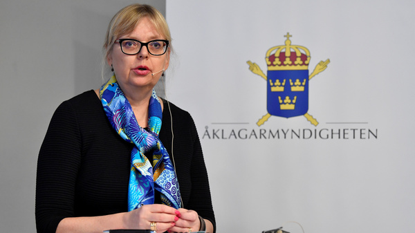 """Deputy Director of Public Prosecution Eva-Marie Persson says """"the evidential situation has been weakened to such an extent"""" that the inquiry into Julian Assange shouldn"""