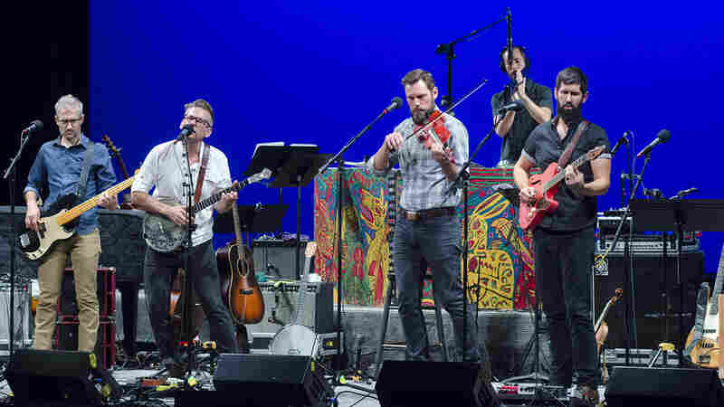The Steel Wheels On Mountain Stage