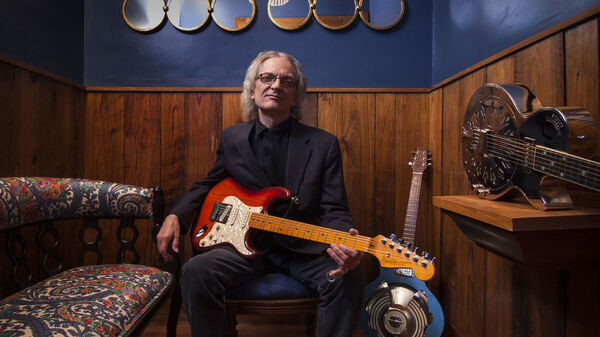 Listen in for a snippet of Sonny Landreth