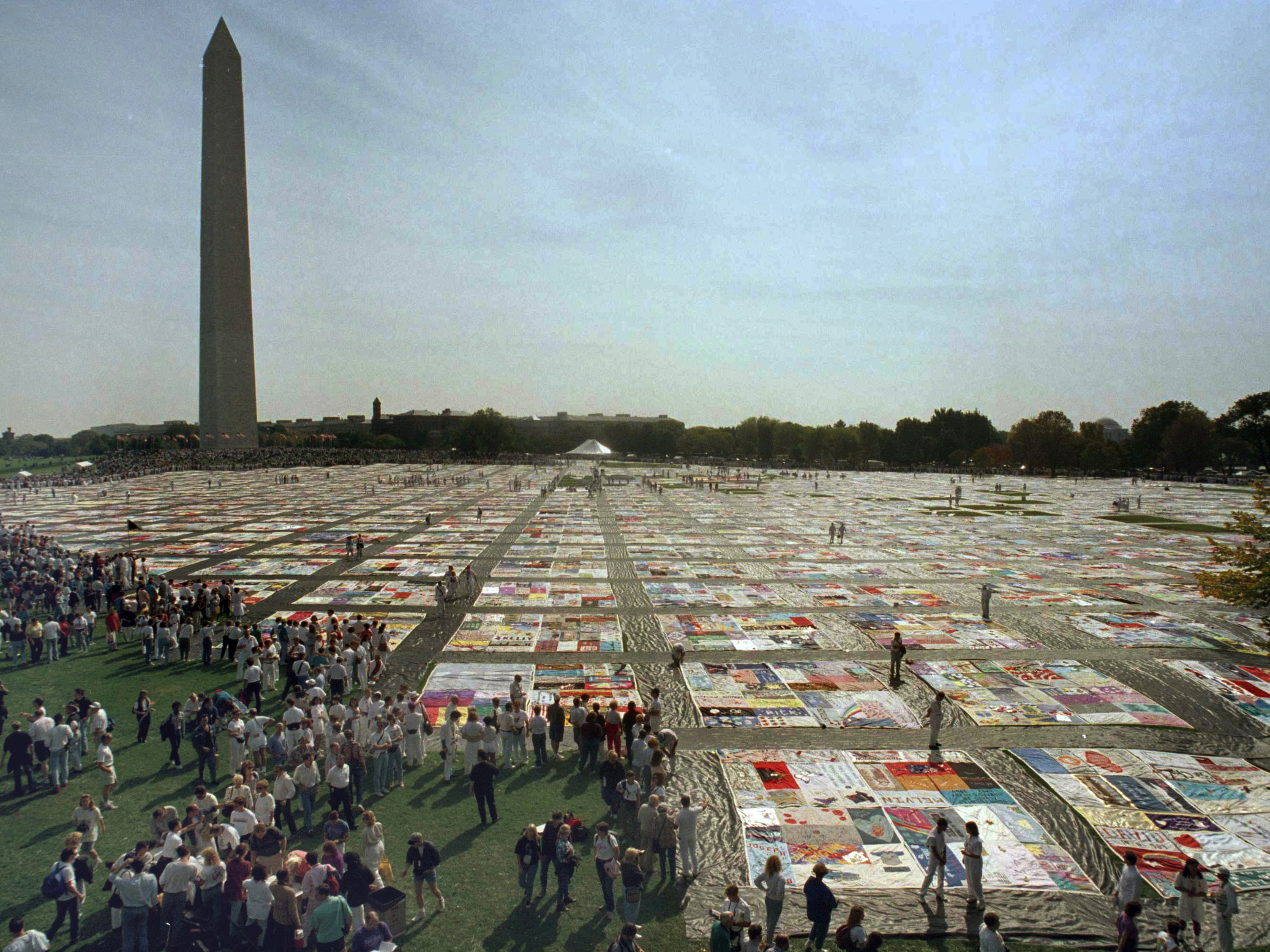 AIDS Memorial Quilt Is Returning Home To San Francisco