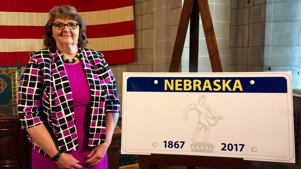 Nebraska Department of Motor Vehicles Director Rhonda Lahm has signed an agreement with the U.S. Census Bureau to share the state