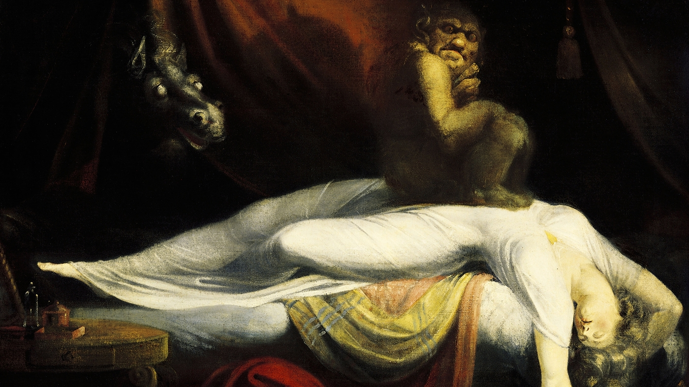 Seeing Monsters? It Could Be The Nightmare Of Sleep Paralysis : Short Wave
