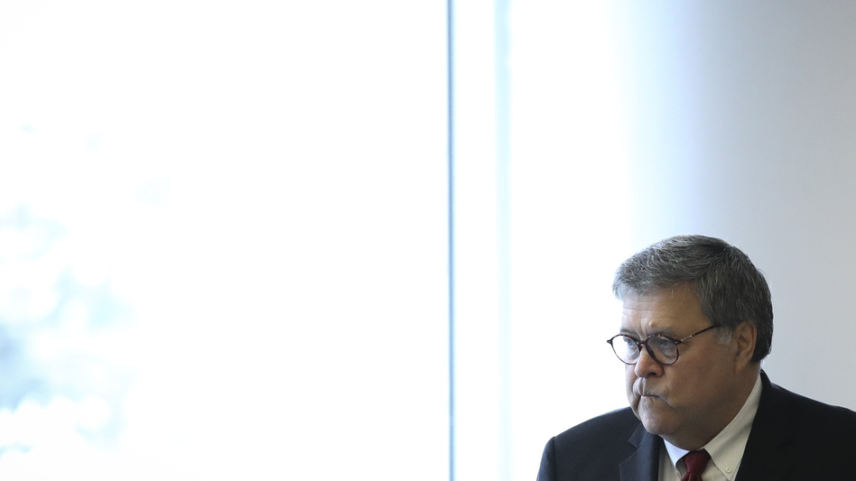 U.S. Attorney General William Barr declared in July that the Justice Department intended to resume carrying out the death penalty. (Drew Angerer/Getty Images)