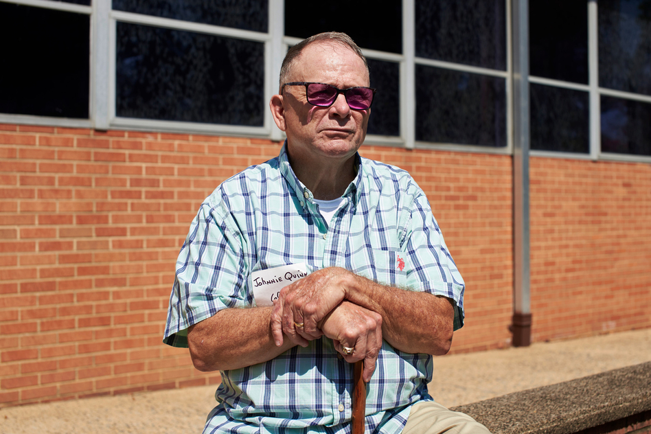 John Quinn, 67, first came forward two decades ago with allegations of sexual assault by a Philadelphia priest and said he considered waiting to sue. (Natalie Piserchio for WHYY)