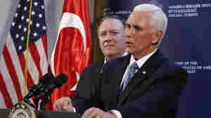 Vice President Pence Makes Surprise Visit To Iraq