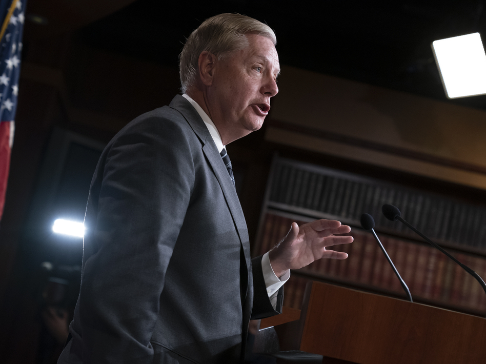 Trump ally Sen. Lindsey Graham shared that White House officials are still holding out hope that the president may not get impeached by the House of Representatives. (J. Scott Applewhite/AP)