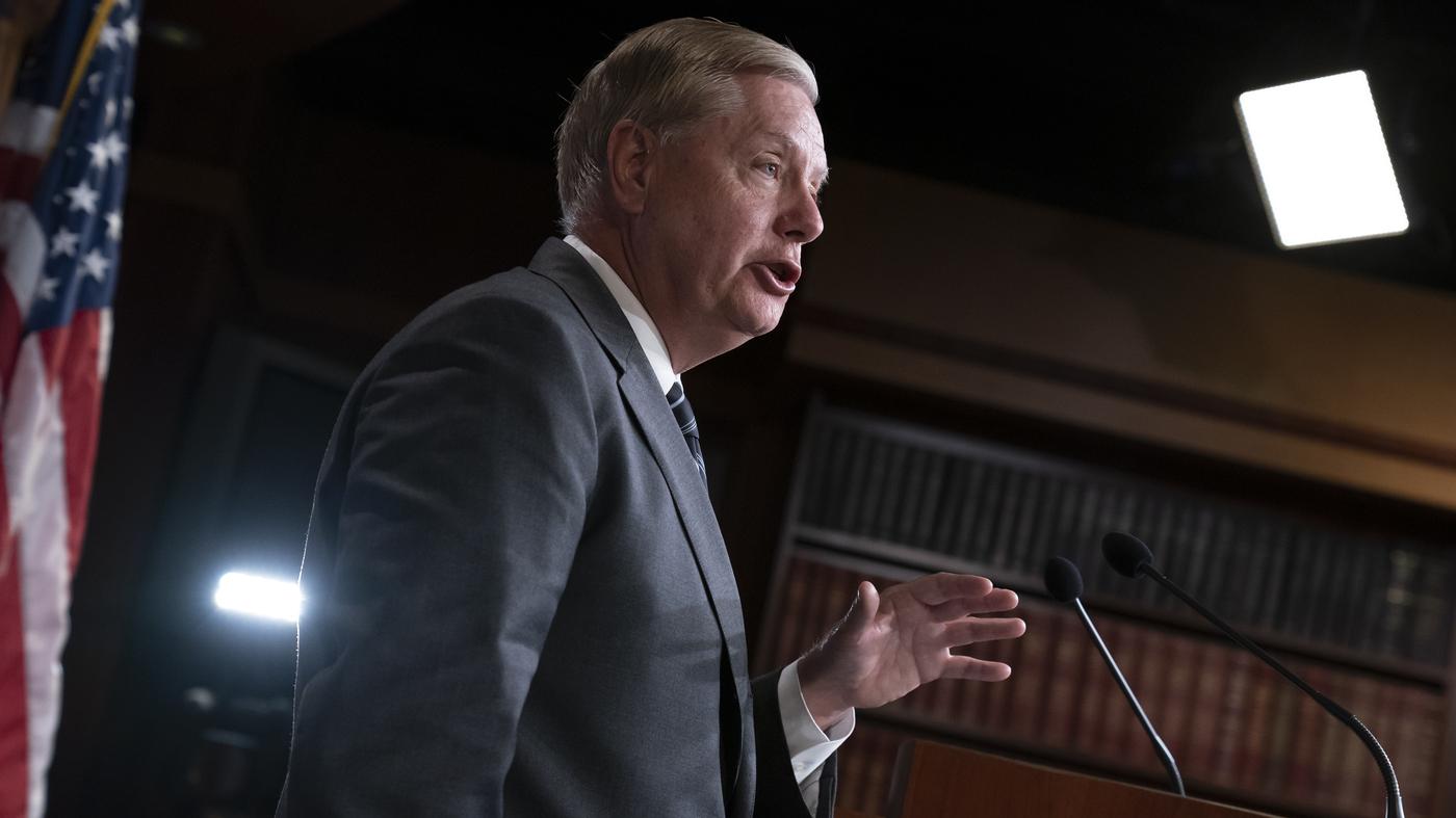 Republican Senators Discuss Impeachment Trial With White House Officials : NPR