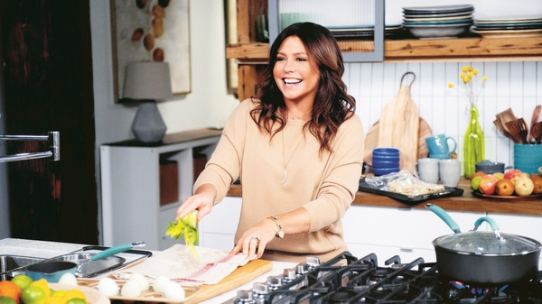 Television chef Rachael Ray celebrates a milestone with a new book, Rachael Ray 50, that