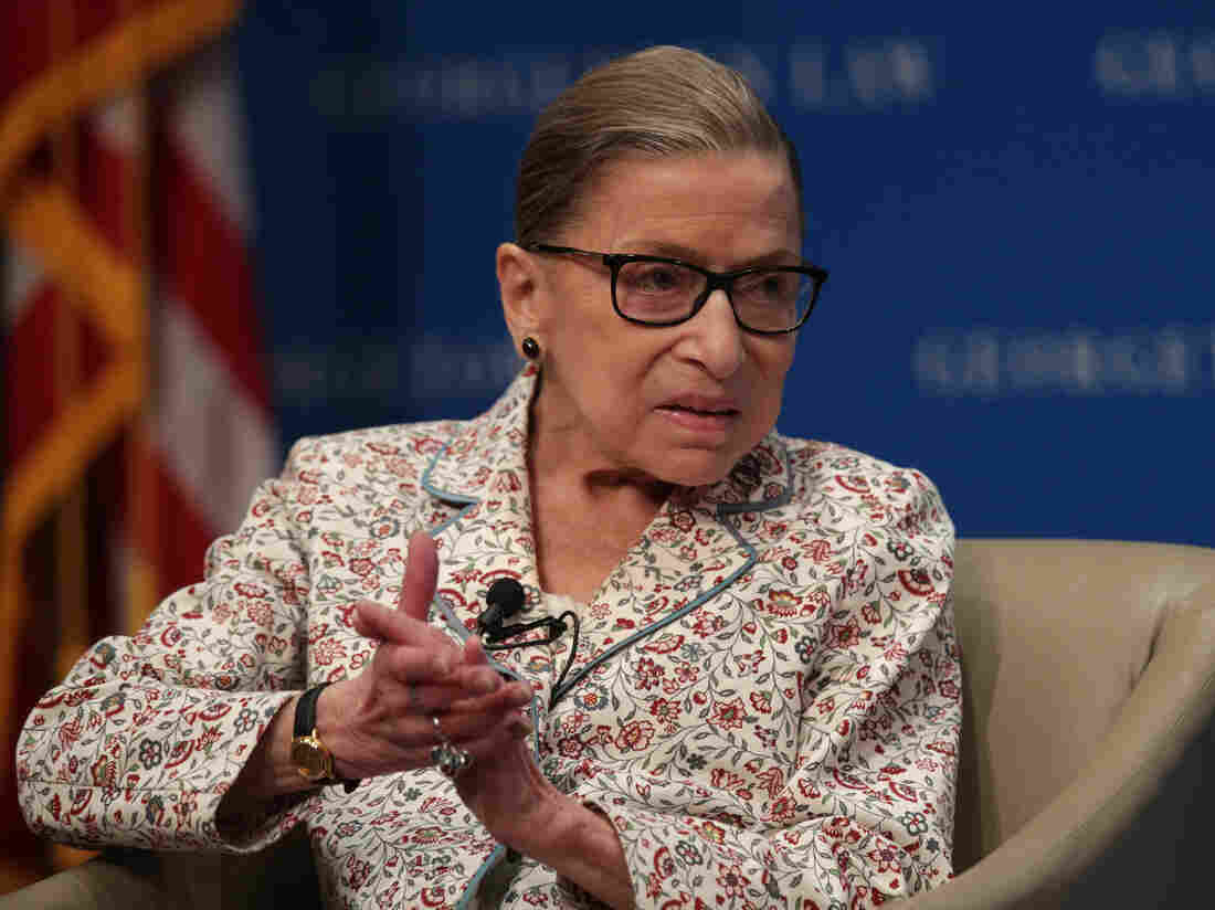 USA supreme court judge Ruth Bader Ginsburg hospitalised with fever
