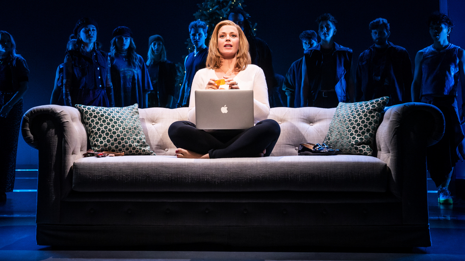 Elizabeth Stanley plays Mary Jane Healy, a central character in <em>Jagged Little Pill</em>. (Matthew Murphy/Courtesy of the artist.)
