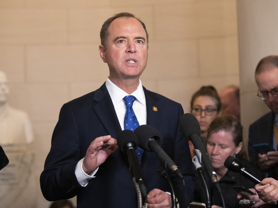House Intelligence Committee Chairman Adam Schiff, D-Calif., has said he could decide to amend the panel's report on its impeachment investigation if new evidence is discovered. (Manuel Balce Ceneta/AP)