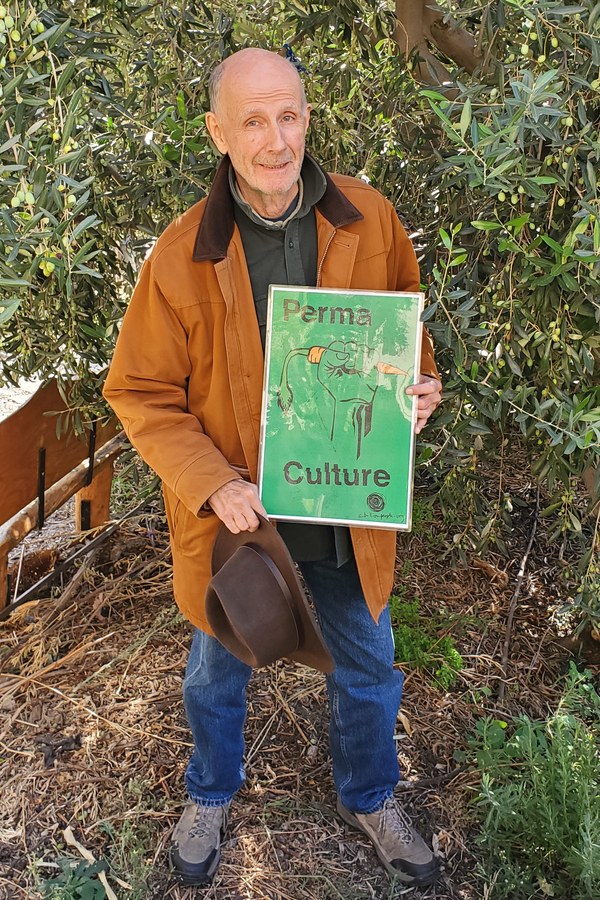 Thom Hawkins is one of the thousands of people across the globe that chooses not to fly to reduce his carbon footprint. He also tends an organic garden at a local church.