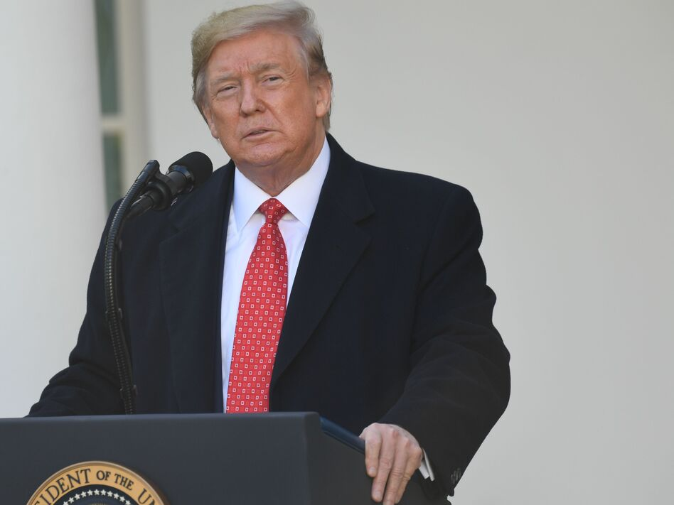 President Trump spoke before pardoning the National Thanksgiving Turkey during a ceremony in the Rose Garden on Tuesday. Trump has until 6 p.m. on Dec. 1 to notify the House Judiciary Committee of any plans to participate in the upcoming public hearing on impeachment. (Saul Loeb/AFP via Getty Images)