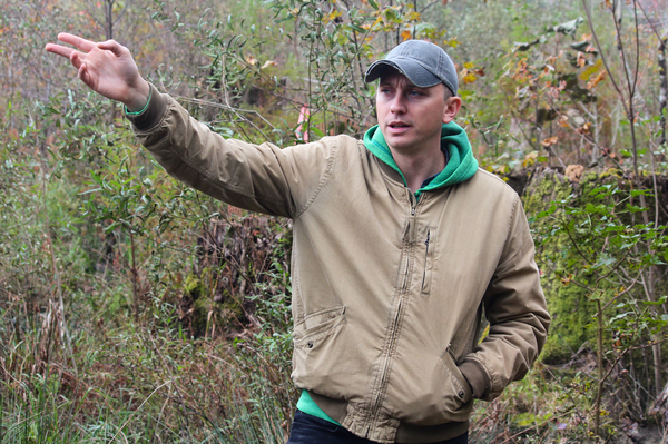 Adam Colette works for Dogwood Alliance, which is devoted to protecting forests in the South.