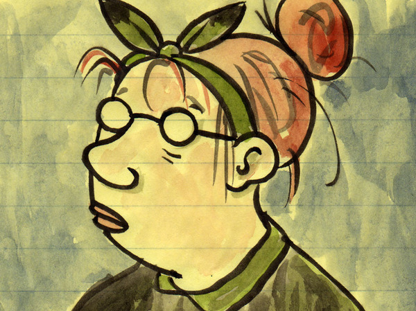 Lynda Barry, by Lynda Barry