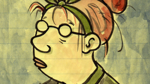 Cartoonist Lynda Barry: Drawing  Has To Come Out Of Your Body