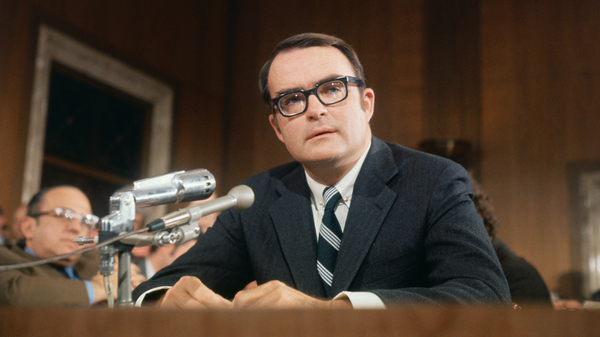 Washington, D.C.: William D. Ruckelshaus, director of the Environmental Protection Agency.