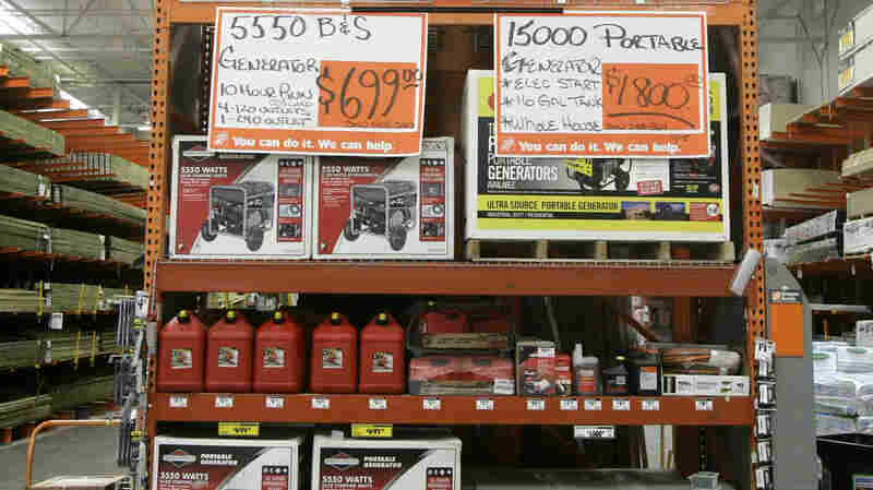 Carbon Monoxide Poisonings Spike After Big Storms. Portable Generators Are A Culprit