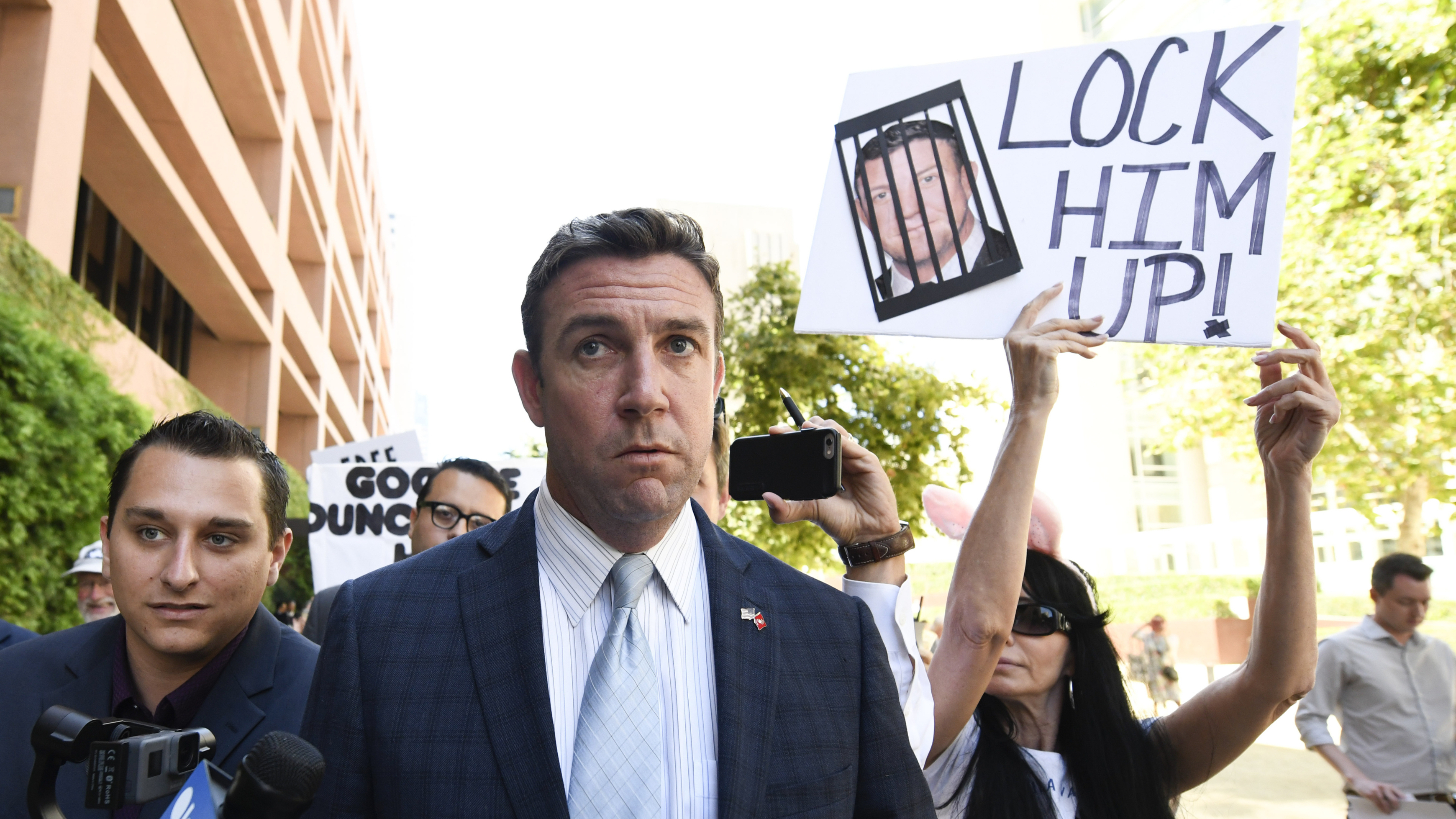GOP Rep. Duncan Hunter To Plead Guilty To Campaign Finance Charge, May Resign