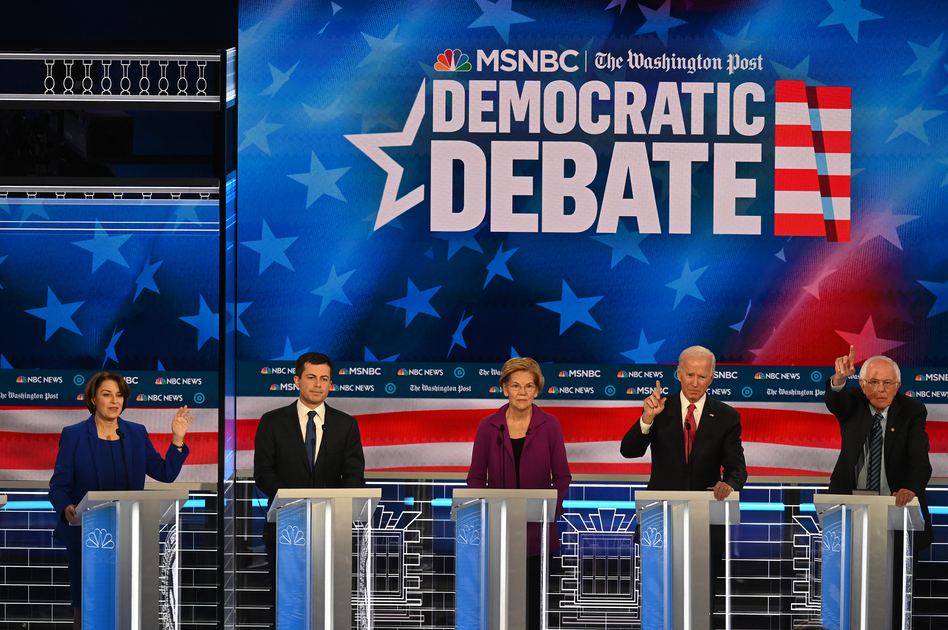 Presidential candidates recognize health care is a key voting concern. But polled Democrats don't yet agree on the best solution. (Toni L. Sandys/The Washington Post/Getty Images)