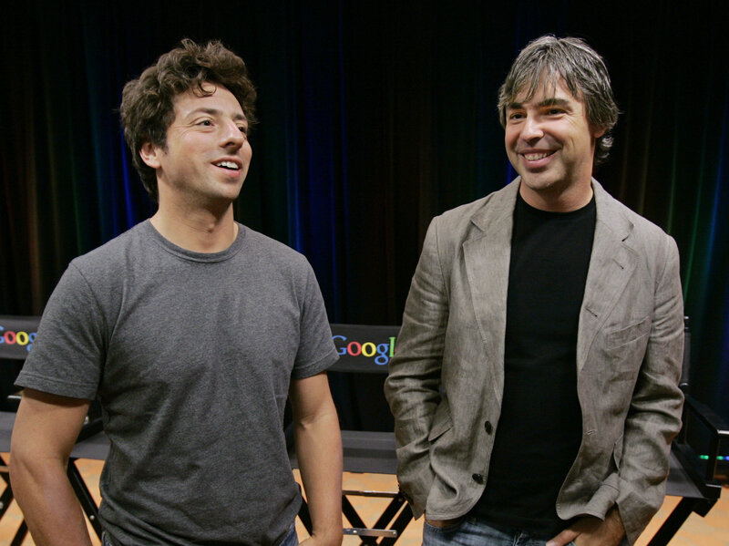 Google Founders Sergey Brin, Larry Page Step Down; Pichai Becomes Alphabet  CEO : NPR