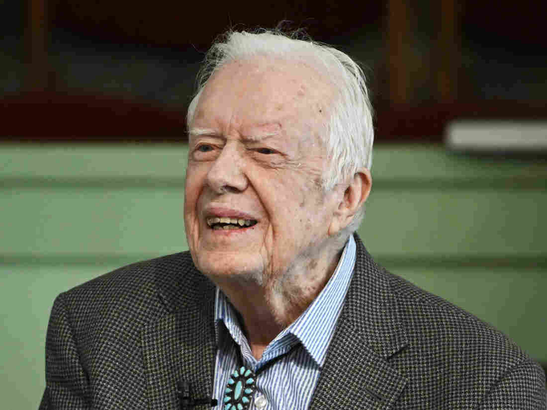 Westlake Legal Group ap_19308600874842-97b02befd68bdae48c744a39f6aaaad5f7cb50ad-s1100-c15 Jimmy Carter Hospitalized For Urinary Tract Infection