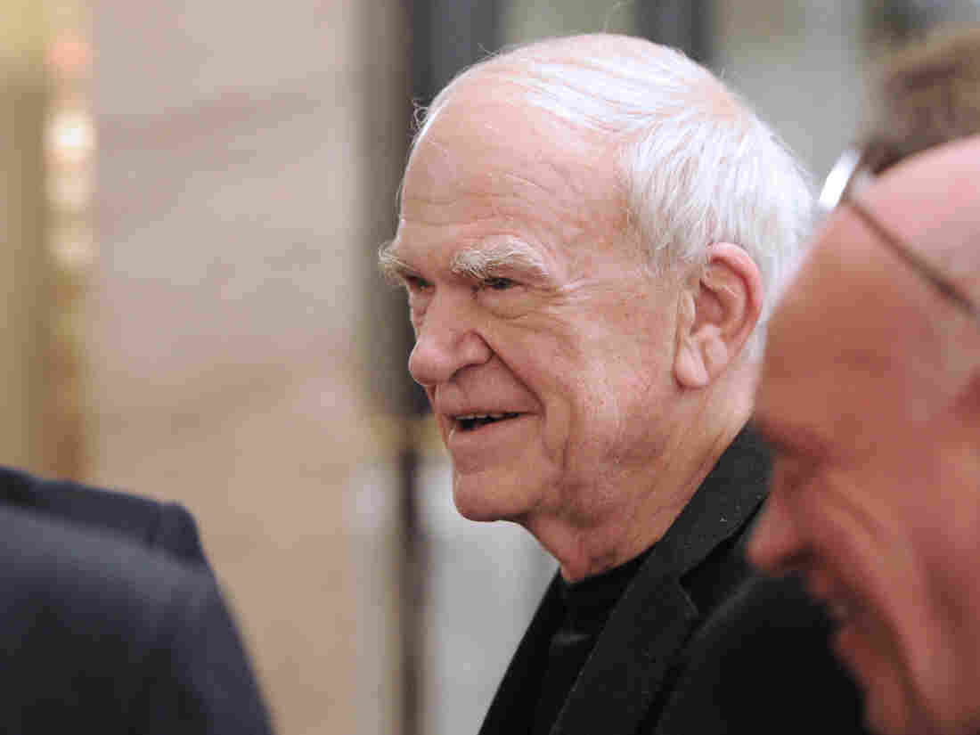 Westlake Legal Group gettyimages-469162725-e6a5e9accacbd70d1fb19a7f488861a83a411007-s1100-c15 Milan Kundera's Czech Citizenship Is Restored After 40 Years