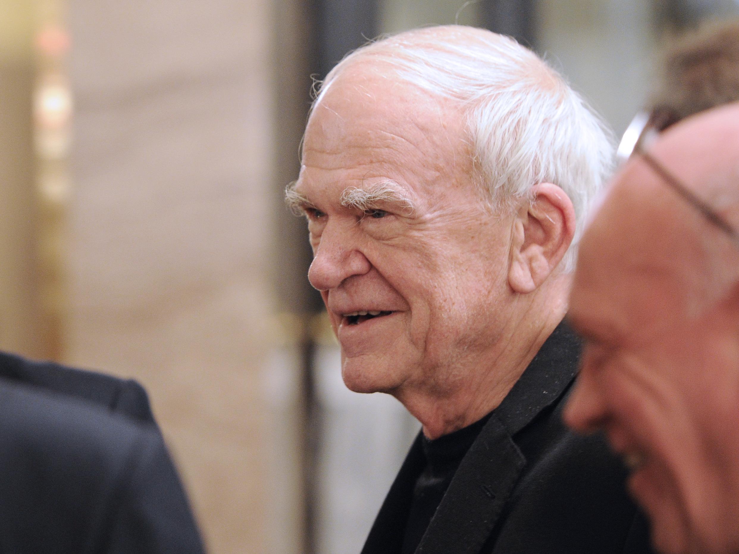 Milan Kundera's Czech Citizenship Is Restored After 40 Years