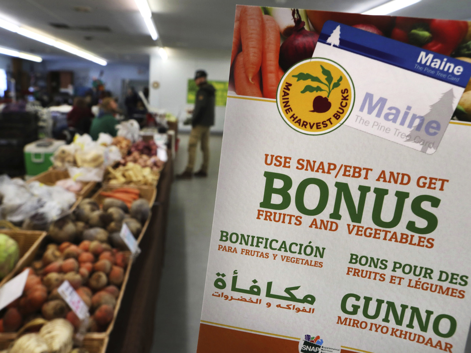 The Trump administration has finalized a rule to limit food stamp benefits for single able-bodied adults who can't show that they work more than 20 hours a week, though legal challenges are possible. (Robert F. Bukaty/AP)