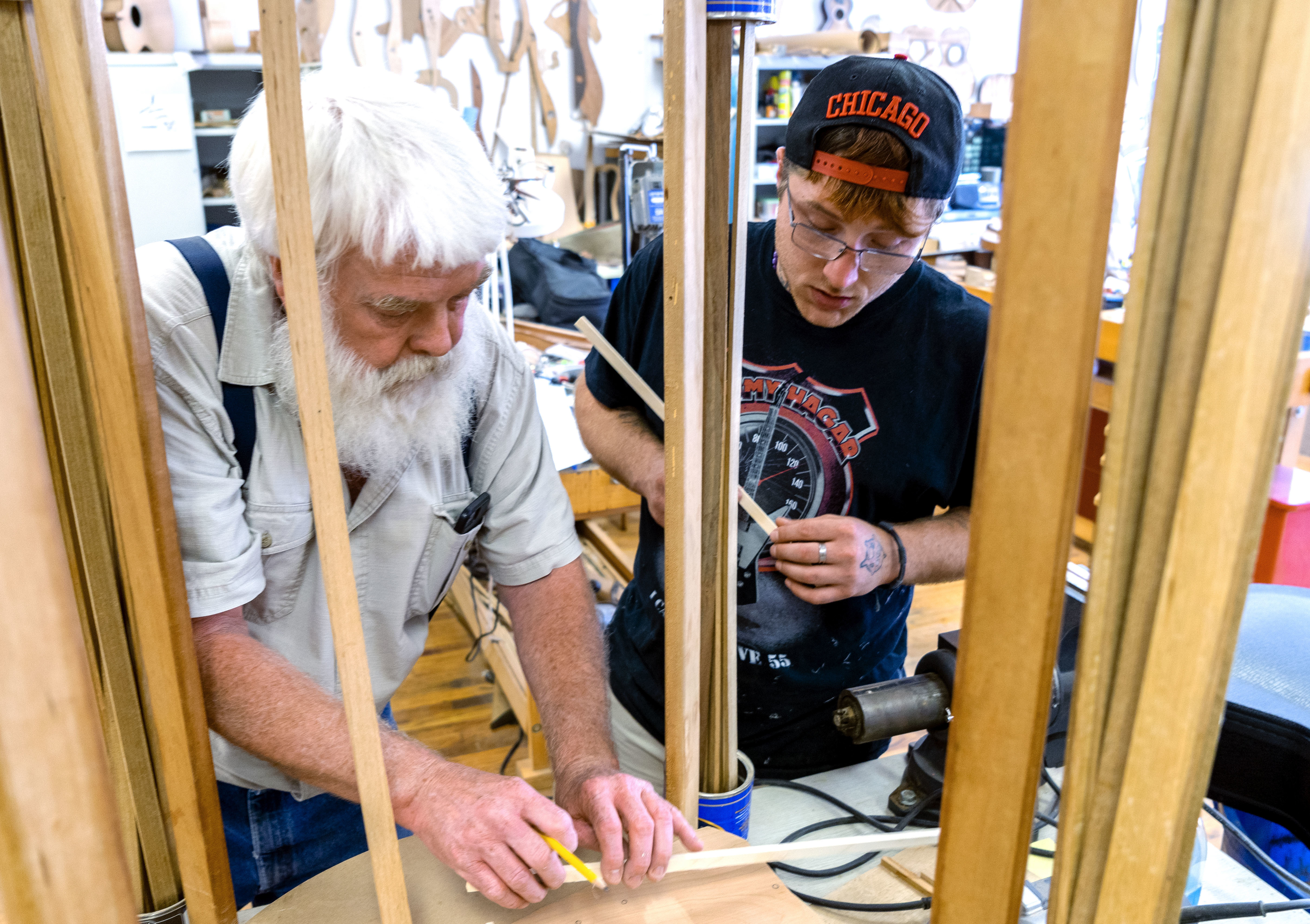'A New Start' — In Recovery And Learning To Make Musical Instruments In Appalachia
