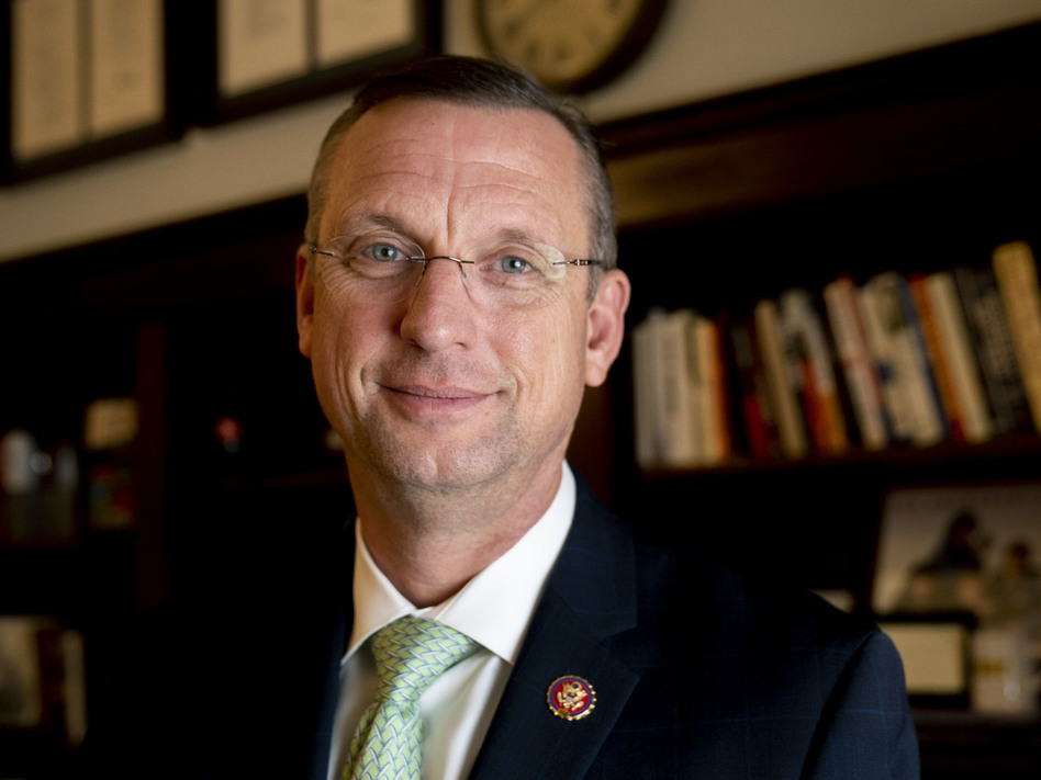 """Democrats have failed to allow for """"a robust set of hearings"""" on impeachment in the House Judiciary Committee, says Rep. Doug Collins, the top Republican on the committee. (Mhari Shaw/NPR)"""