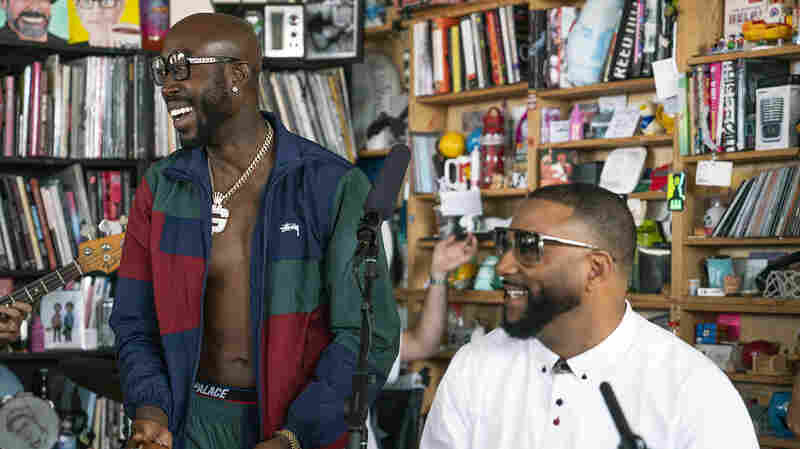 Freddie Gibbs And Madlib: Tiny Desk Concert