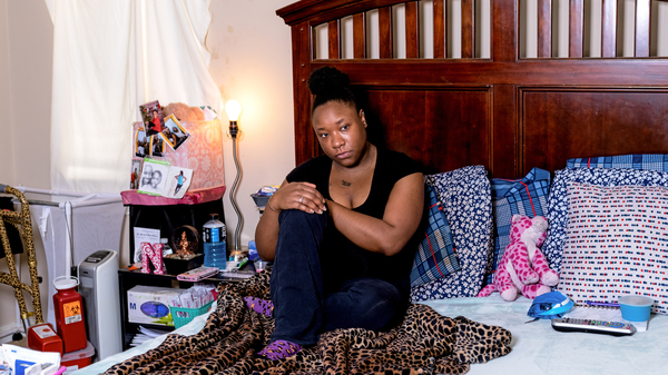 "from local story: ""Sickle cell pain has a mind of its own,"" said Anesha Barnes, who"