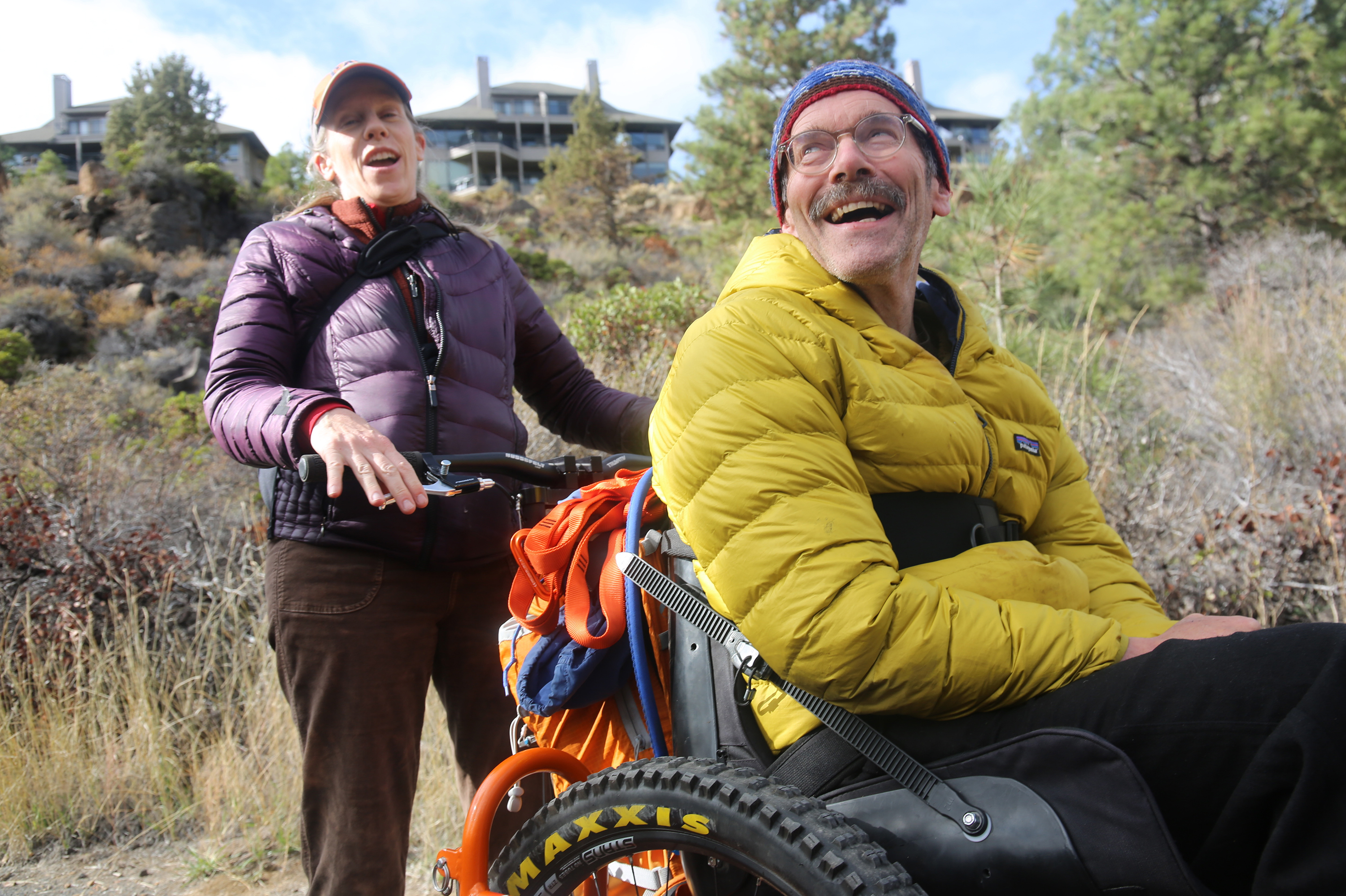 Hiking Wheelchair Opens Up Outdoor Lifestyle To People With Disabilities