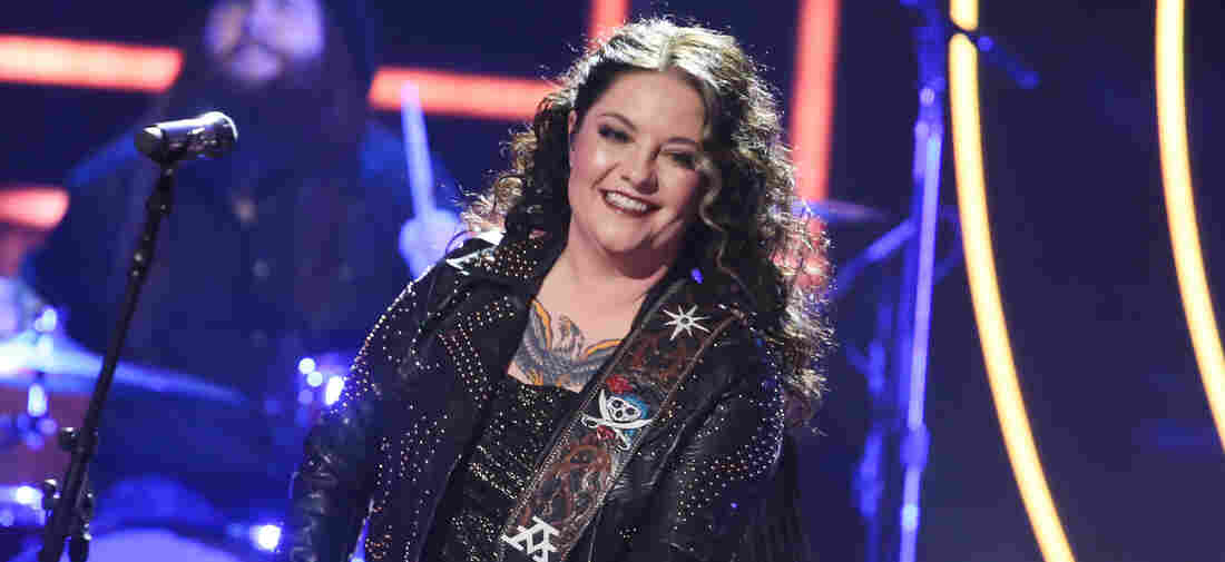 Ashley McBryde performs onstage during the 2019 CMT Artists of the Year at Schermerhorn Symphony Center on October 16, 2019 in Nashville, Tennessee.