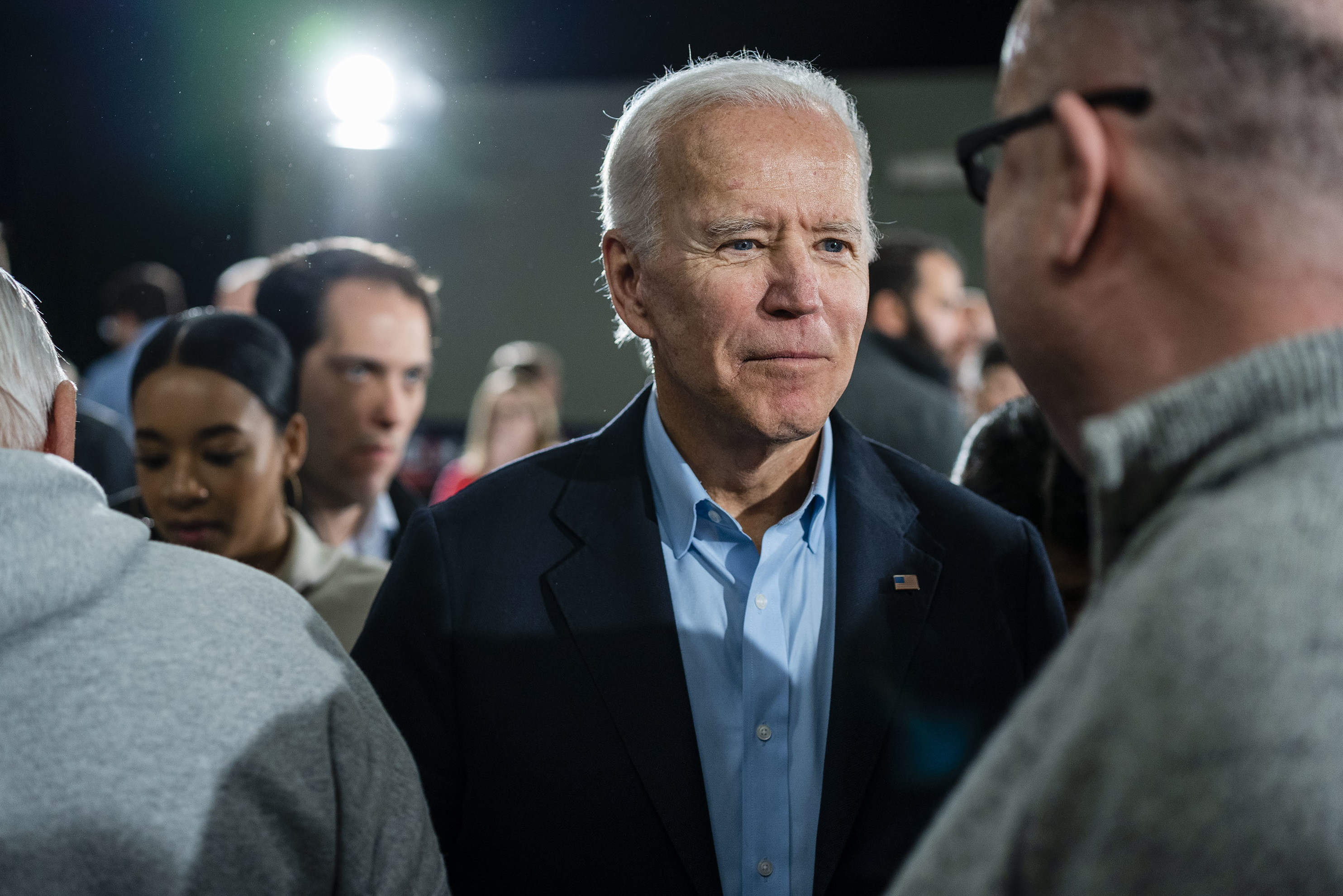 Biden Doubles Down On Heated Town Hall Where He Called Voter A 'Damn Liar'