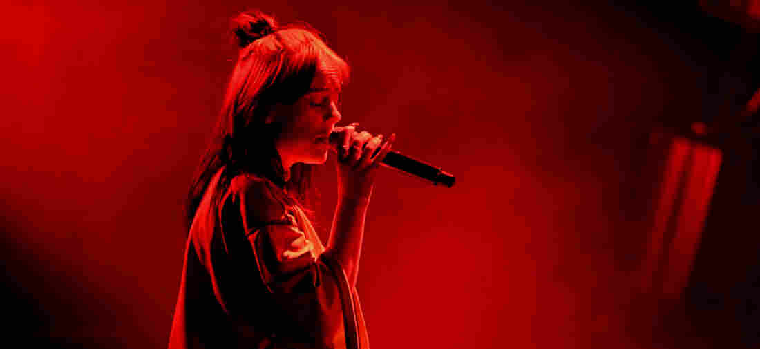 Billie Eilish performs onstage during the 7th Annual We Can Survive, presented by AT&T, a RADIO.COM event, at The Hollywood Bowl on October 19, 2019 in Los Angeles, California.
